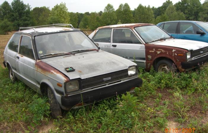OVER1981TOYOTASon 1981 Toyota Corolla